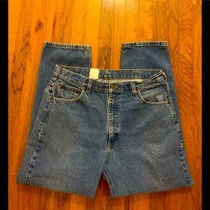 Carhartt Men's denim jeans, size 38/30